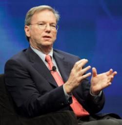 Google-Chairman Eric Schmidt
