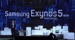 Samsung-CEO Stephen Woo hat auf der CES in Las Vegas den Achtkern-Prozessor Exynos5 Octa vorgestellt (Bild: Samsung)