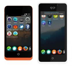 Smartphone-Modelle Keon und Peak mit Firefox OS (Bild: GeeksPhone)