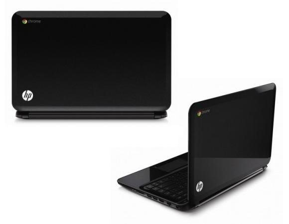 Das Pavilion Chromebook bietet ein größeres Display als die bisher erhältlichen Modelle von Acer, Lenovo und Samsung (Bild: HP).