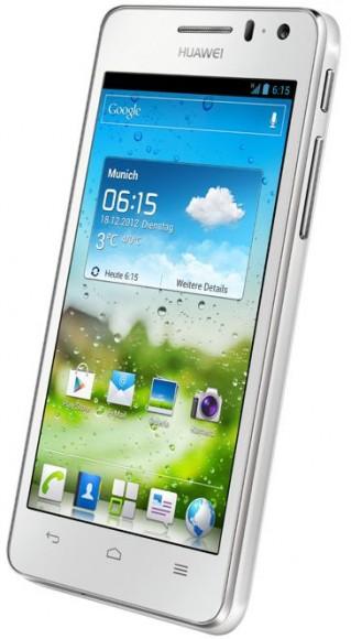 Das Ascend G615 kommt im Februar für 299 Euro (Bild: Huawei).