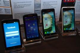 Lenovo-Smartphones auf der CES 2012