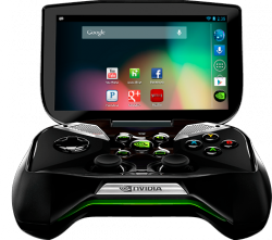 Nvidias mobile Spielkonsole Project Shield (Bild: Nvidia)