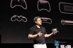Nvidia-CEO Jen-Hsun Huang stellte Project Shield auf der CES in Las Vegas vor (Bild: Nvidia).