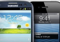 Samsung Galaxy S3 und Apple iPhone 5