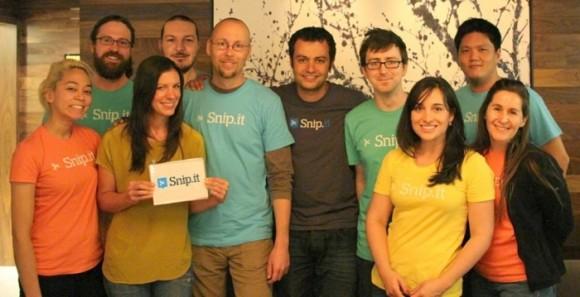 Das Team von Snip.it wechselt zu Yahoo (Bild: Snip.it).