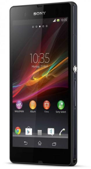 Das Xperia Z bietet eine Full-HD-Screen (Bild: Sony).