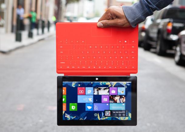 Windows 8.1 liefert Hochformatmodus für Tablets