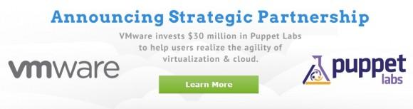 Partnerschaft VMware und Puppet Labs