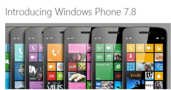 Windows Phone 7.8 (Bild: Microsoft)