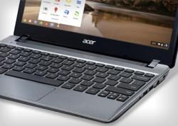Acers bisherige Chromebooks bieten noch keinen Touchscreen (Bild: Sarah Tew/CNET).