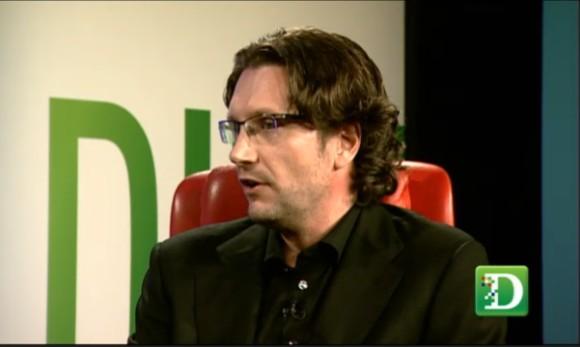 Intel-Media-Chef Erik Huggers während der Konferenz D: Dive Into Media