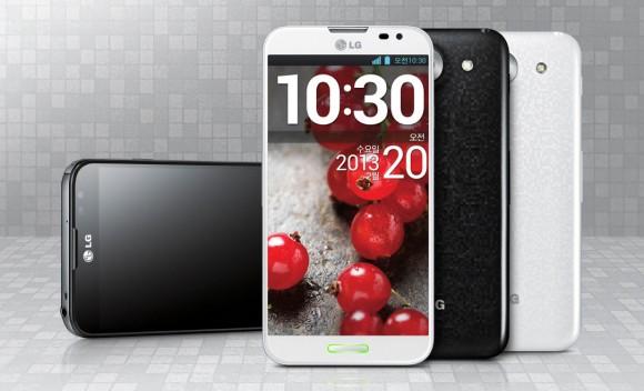 Das Optimus G Pro hat ein 5,5 Zoll großes Full-HD-Display (Bild: LG).