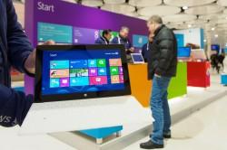 Ab dem 14. Februar können Interessenten das Surface RT im deutschen Fachhandel ausprobieren (Bild: Microsoft).