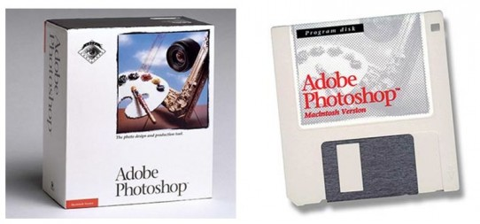Adobe Photoshop 1.0.1 (Bild: Computer History Museum)