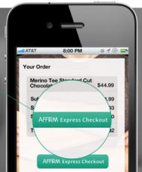 Smartphone-Bezahldienst Affirm (Bild: Affirm)