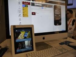 AppMachine auf dem MWC (Bild: News.com)