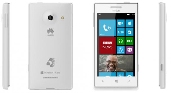Das Huawei 4Afrika wurde speziell für den afrikanischen Markt entwickelt (Bild: Microsoft).