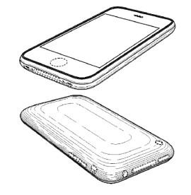 Illustration zum iPhone-Geschmacksmuster (Bild: Apple)