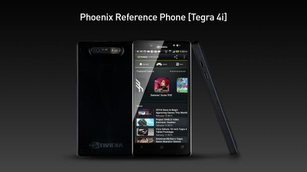 Nvidia-Referenzdesign Phoenix mit Tegra 4i