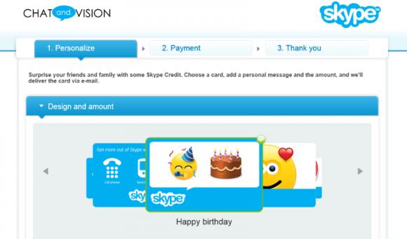Nutzer können jetzt Skype-Guthaben an Kontakte verschenken (Bild: Skype).