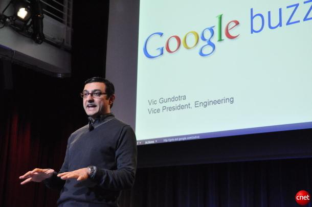 Google-Vizepräsident Vic Gundotra (Bild: News.com)