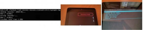 CyanogenMod: ClockworkMod Recovery flashen