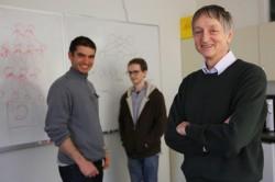 Sind ab sofort für Google tätig: Ilya Sutskever, Alex Krizhevsky und Professor Geoffrey Hinton von der Universität Toronto (Bild: John Guatto)