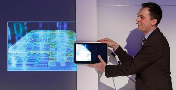 Intel führt DaaS auf der CeBIT vor (Bild: Stephen Shankland / CNET.com)