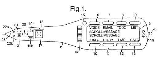 Apple erhält Patent auf Stiftcomputer