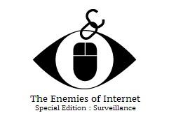 Logo Feinde des Internets - Reporter ohne Grenzen