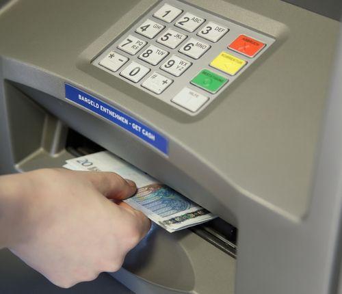 Bankautomat gebraucht