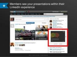 LinkedIn nutzt SlideShare für Werbung (Screenshot: LinkedIn)