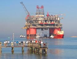 Ölplattform Thunder Horse im Golf von Mexiko (Bild: BP)