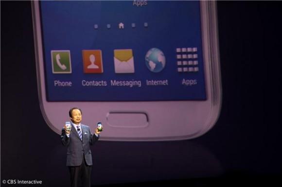 Samsungs JK Shin mit Galaxy S4