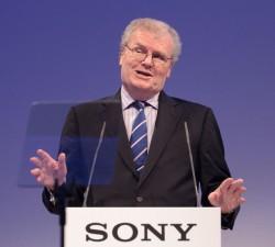 Howard Stringer auf der IFA 2011 (Bild: News.com)