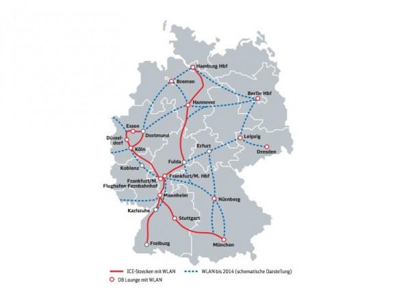 Deutsche Bahn: WLAN-Ausbau