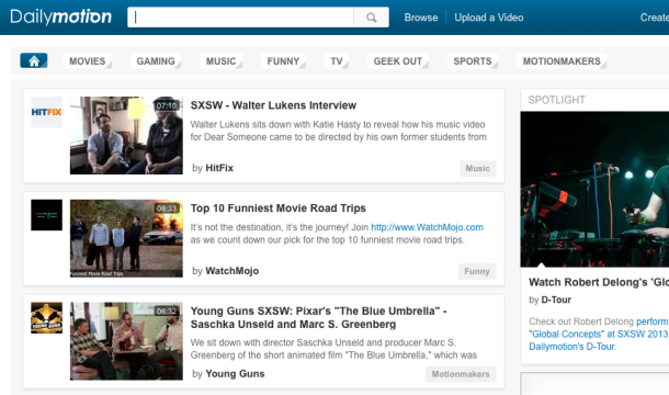 Dailymotion YouTube