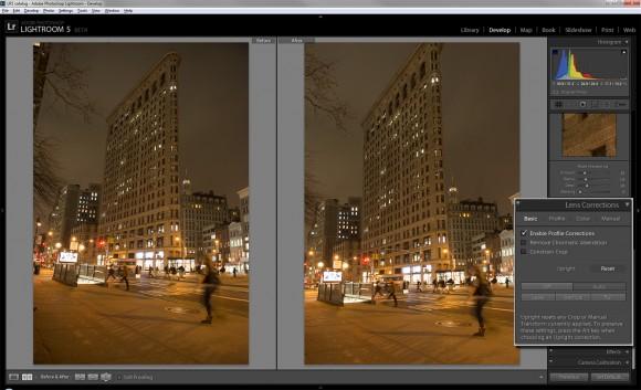 """Das neue """"Aufrichten""""-Tool hilft bei der horizontalen und vertikalen Ausrichtung von Fotos und Bildobjekten (Bild: Lori Grunin/CNET)."""
