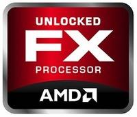 AMD-Logo für die Prozessorreihe FX