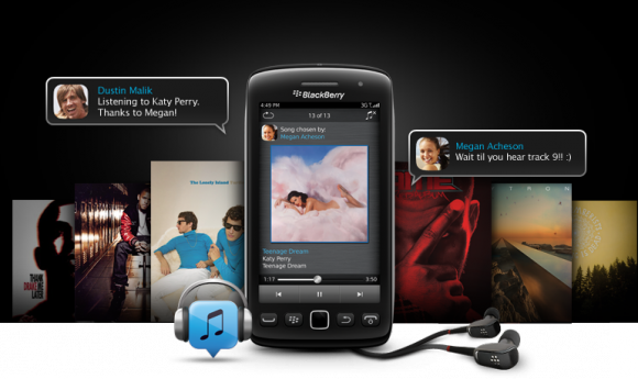 BBM Music (Bild: Blackberry)