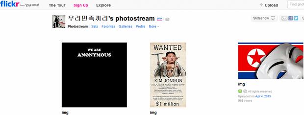 Offizielles Flickr-Konto von Nordkorea (Screenshot: News.com)