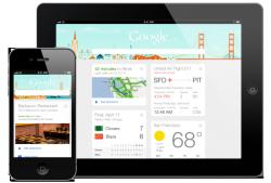 Google Now auf iPad und iPhone