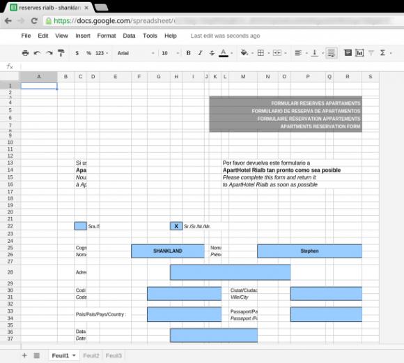 Der Import von Excel-Tabellen in Google Apps ist weiter problematisch: Bilder gehen verloren, Wörter stehen übereinander, Formatierungen ändern sich. Chrome Office Viewer soll das Ärgernis beheben (Screenshot: Stephen Shankland, News.com).