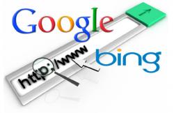 Logos von Google und Bing (Bild: AV-Test)