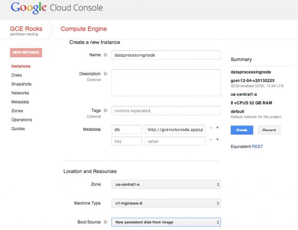Mit Google Cloud Console lassen sich alle Cloud-Plattform-Dienste des Unternehmens zentral verwalten (Bild: Google).