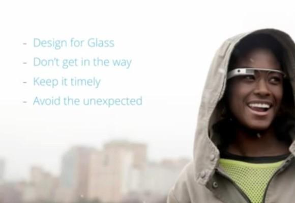 Designvorgaben für Google-Glass-Dienste (Bild: Google)