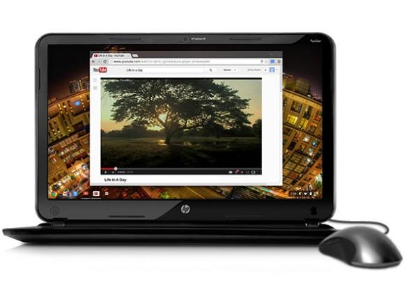 In den USA für 329 Dollar angebotenes HP-Chromebook mit Intel-Prozessor (Bild: HP)