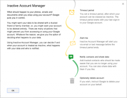 Inactive Account Manager (Diagramm: Google)