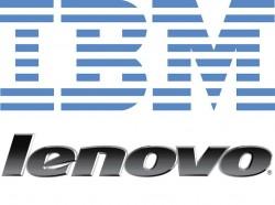 Logos von IBM und Lenovo